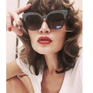 •Jimmy Choo•Purple Glitter Sunglasses•NWT